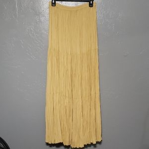 Double D Ranch Broomstick three tier skirt Medium